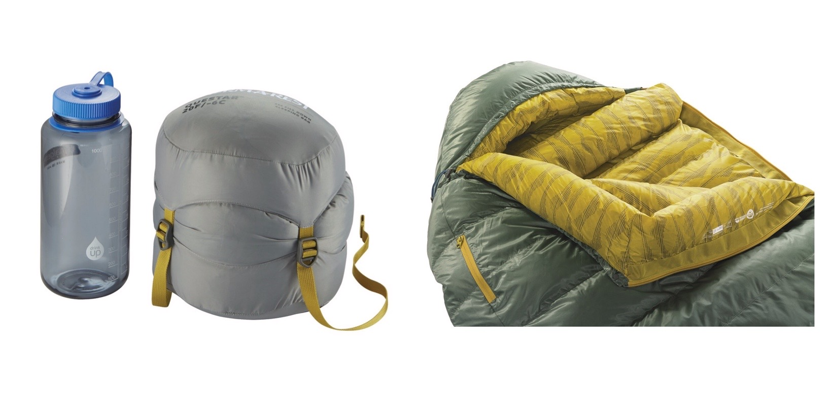 Therm-a-Rest Questar 20F Down Sleeping Bag - Details