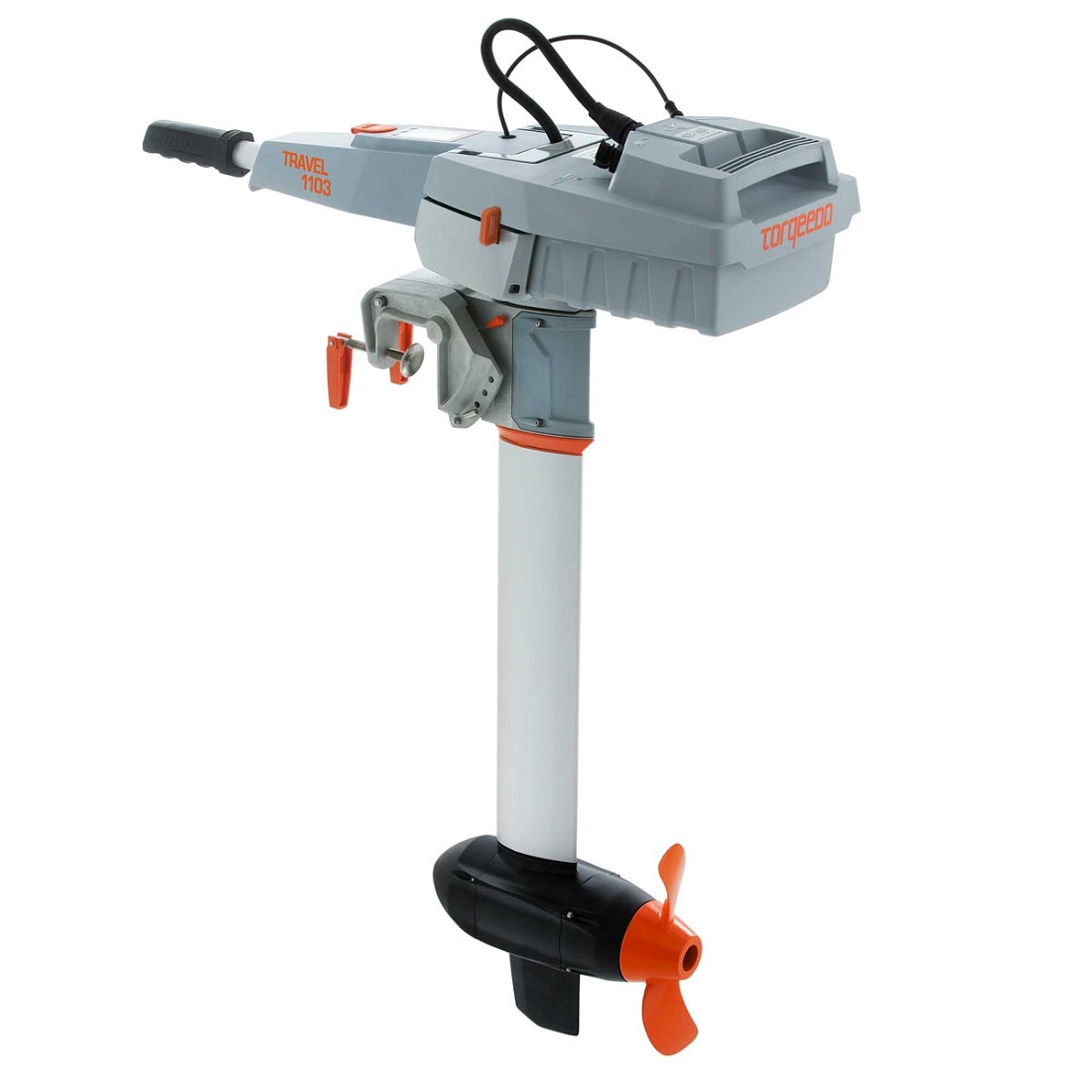 Torqeedo Travel 1103-C Electric Outboard Motor - Rear View