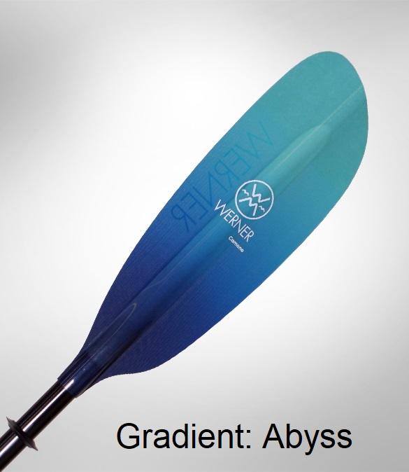 Werner Camano Kayak Paddle - Gradient: Abyss Blade