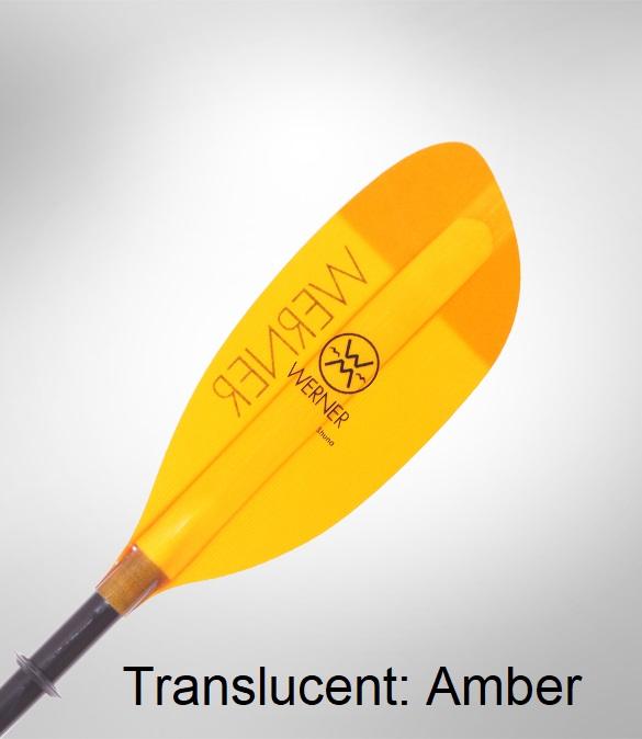 Werner Shuna Paddle - Translucent Amber