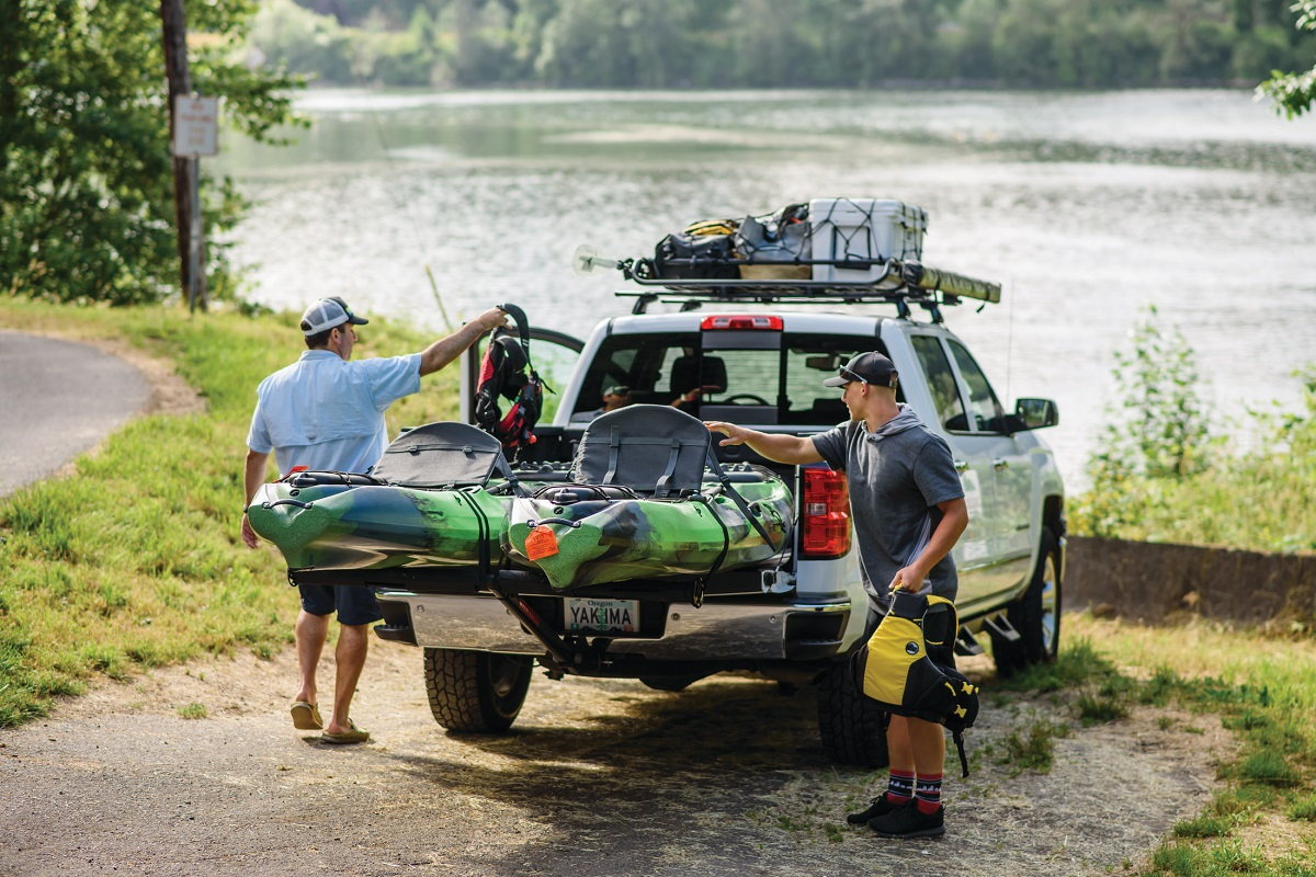 Yakima OffGrid Extension - Truck Mounted For Fishing