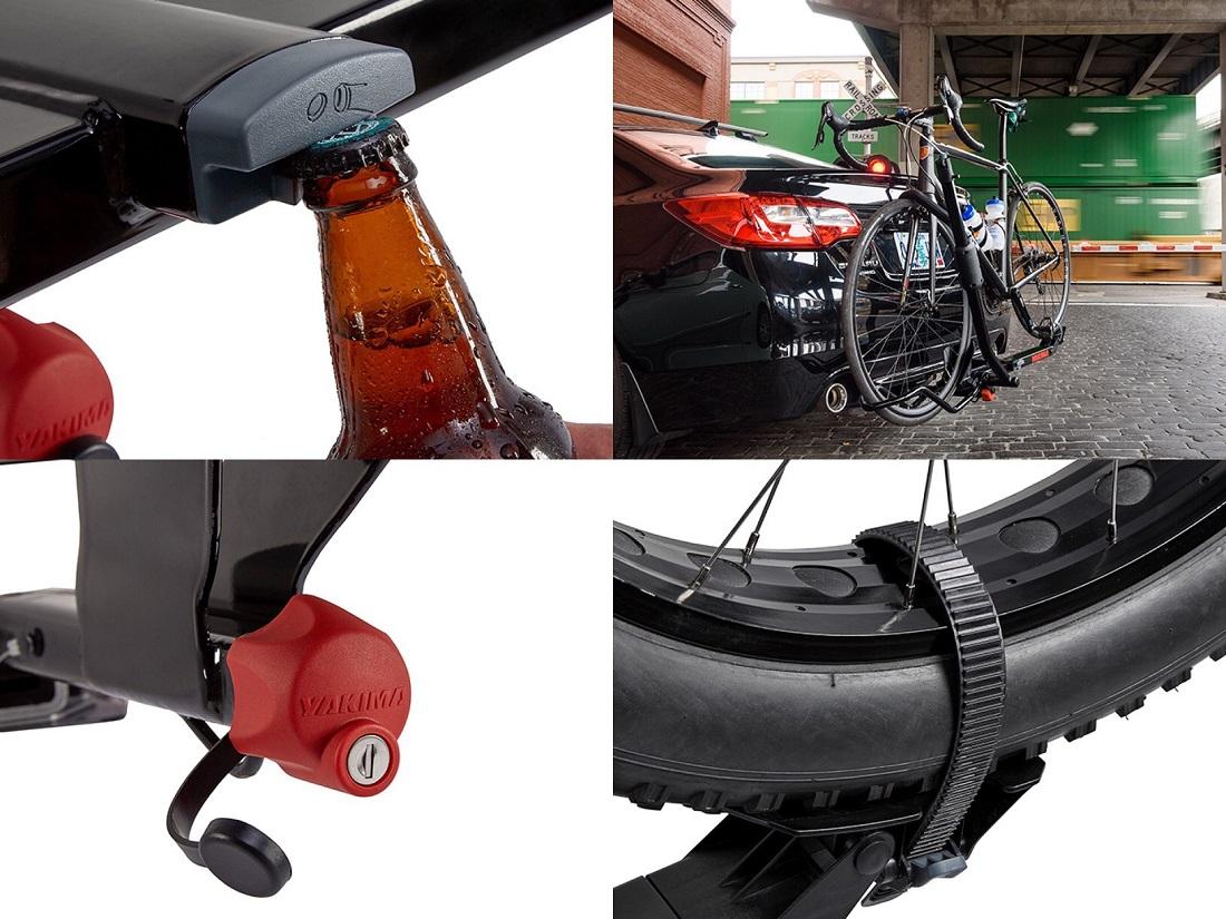 Yakima SingleSpeed Bicycle Hitch Rack - Details