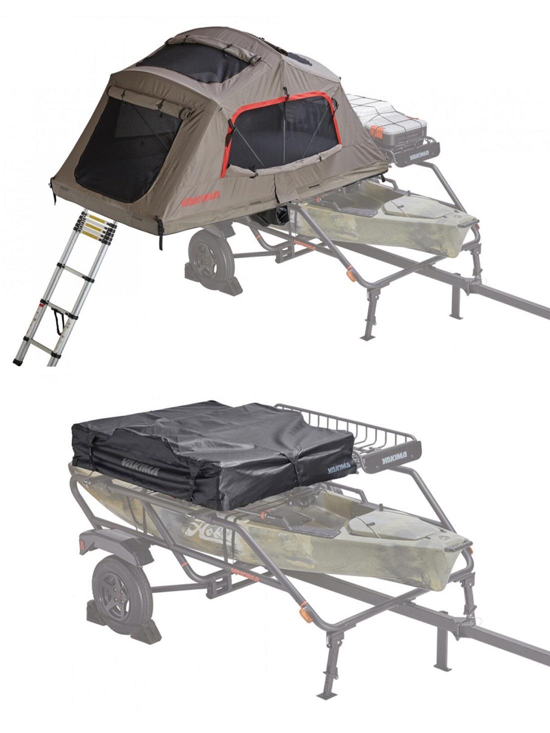 Yakima SkyRise HD Tent - Medium/On Trailer