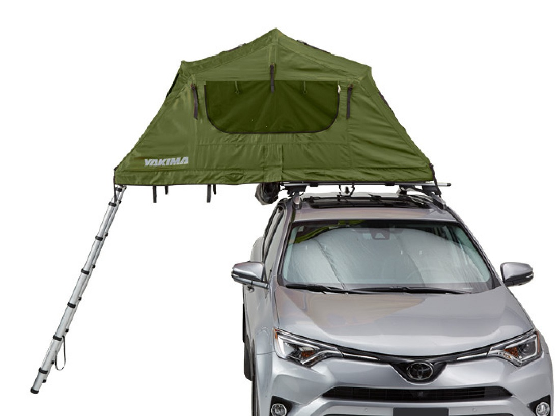 Yakima SkyRise Tent - Medium, Without Fly, Side View