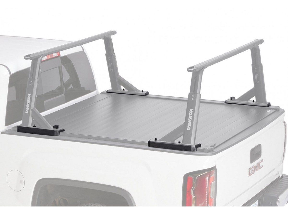 Yakima Tonneau Kit 1 - Installed With Cover Closed