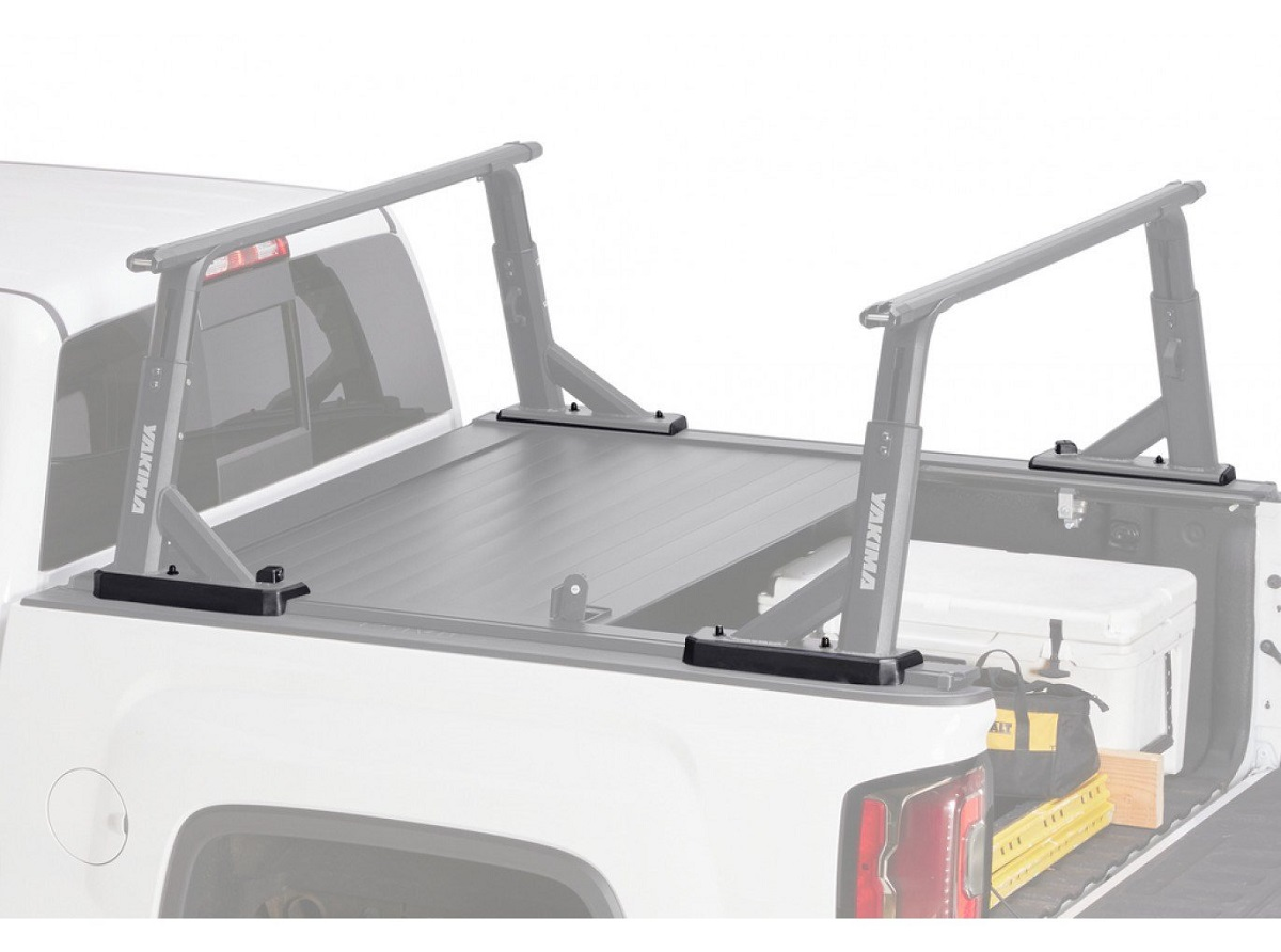 Yakima Tonneau Kit 1 - Installed With Cover Open